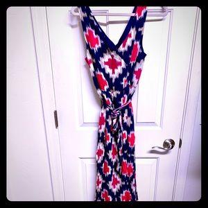 JCP brand summer sleeves maxi dress